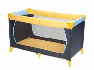 Hauck Lit Parapluie Dream'N Play 11, jaune / bleu ciel / bleu marine