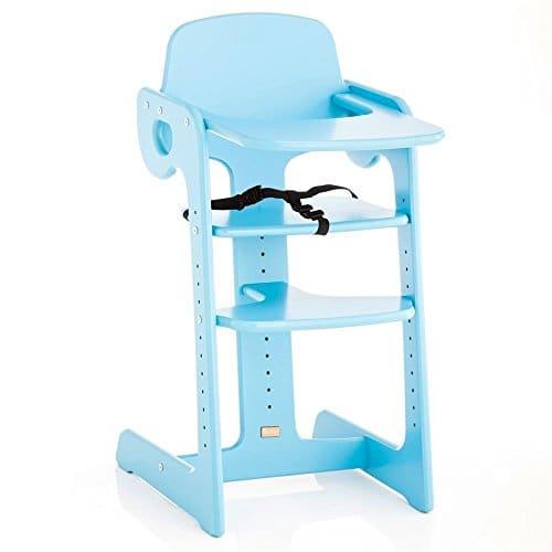 Herlag Escaliers Chaise haute Tipp Topp IV bleu