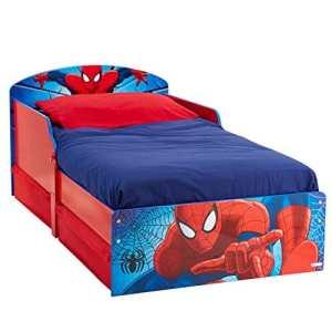 Spiderman Lit Enfant Tiroirs De Rangement Hello Home