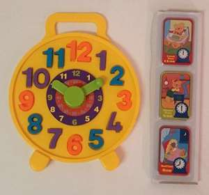 Teach Time Puzzle Clock