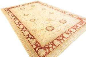 Générique Tapis Ziegler 530x 370cm Orient Chobi Main geknüpft Afghanistan Carpet Rug