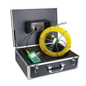 50M 40M 30M 20M Caméra D'inspection des Eaux De Drainage 7″Moniteur LCD 1000TVL LED Vision Nocturne Pipescope HD Caméra (Taille : 40m)
