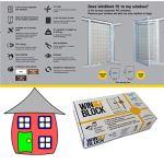 Système de sécurité de fenêtre pour les enfants, huit boîtes