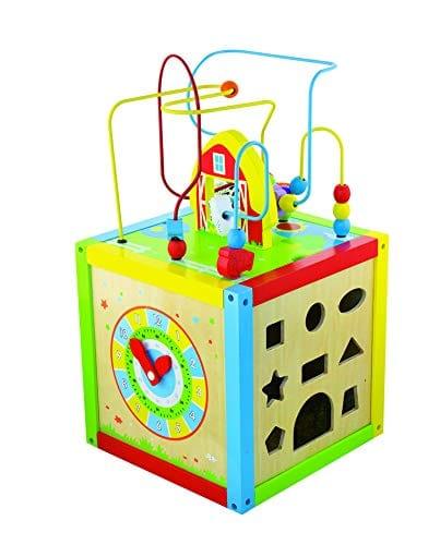 Andreu Toys 30x 30x 55cm d'activité Cube (Multicolore)