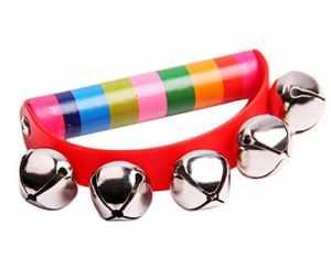 itemer jouets éducatifs de jouet de bois Hochet semi-circulaire pour enfants