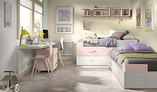 Ambiato Vita 07 Chambre Du0027enfant Pour 2 Enfants, Grand Espace De Rangement  Pour Les Petits Espaces, Même Pour Les Petits Espaces.