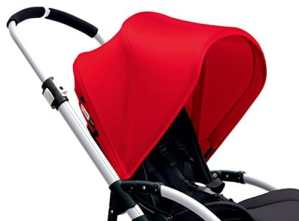 Bugaboo – Capote extensible Bee 3 Rouge