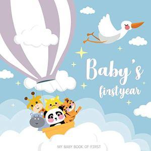 Lucy Darling Petite première année d'animal amant bébé Mémoire livre: un livre simple de Firsts