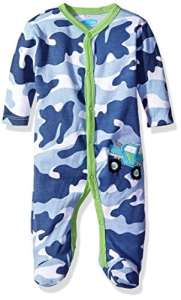 Bon Bebe – Peignoir – Bébé (garçon) 0 à 24 mois Bleu bleu/camouflage 3-6 mois