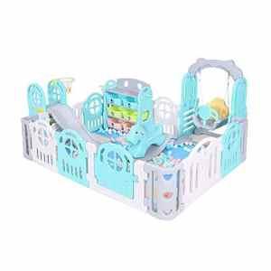GYH Clôture de sécurité, clôture de Jeu pour Enfants Accueil bébé intérieur Tapis Rampant Bambin Slide bébé clôture (#) ( Color : A )