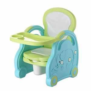 Havanadd-Baby Products Pot d'enfants Chaise Pliable pour Enfants, Table Basse Anti-dérapante Toilette d'entraînement pour Tout-Petit (Couleur : Bleu)
