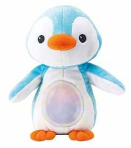 Winfun Pingouin Doudou einschlaf Animaux Bébé Sommeil Aide Avec Lumière Mélodies