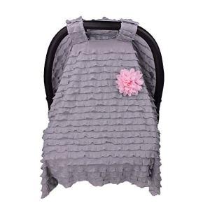 GCDN Protection Respirante pour Poussette d'été Accessoires pour siège Auto bébé, Gris, Taille Unique