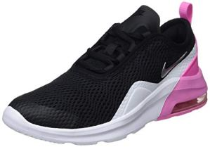 Nike Air Max Motion 2, Chaussures de Gymnastique bébé Fille, Multicolore (Black/Metallic Silver/Psychic Pink/White 001) 35.5 EU