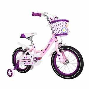 Voiture de jouet pour enfants Vélo Enfant Poussette Fille 12/14/16 Pouce Haute Élasticité Confortable Siège Sécurité Double Frein ( Color : Blue , Size : 16(113*16*55CM) )