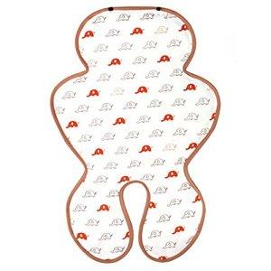 AGUARD Jelly Bean Refroidir Seat Mat pour bébé poussette et siège auto coton Hisobead cristal Jelly Cool (or Eley)