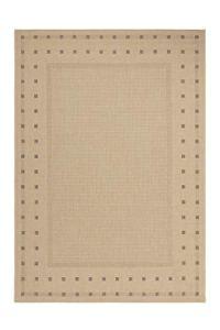 Lalee Tapis aux Velours Fins finca 520 120×170 Natural Décoration, 100% polypropylène, Beige, 120x170cm