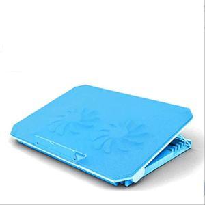 Bijibensanreqi Bloc-notes De Base Réglable For Ordinateur Portable, Support For Tablette, Dissipateur De Chaleur De Refroidissement À Échappement Portable (L35 * W25 * H2.7 Cm) ( Color : Blue )