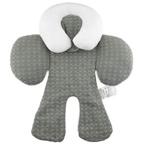 Confortable double face utilisation bébé poussette coussin de siège respirant coton infantile bébé BB coussin de siège de voiture coussin poussette