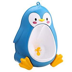 Dessin Animé Mignon Pingouin Pot Urinoir Toilette Permanent Urinoir Salle De Bains Enfants Pee Trainer pour 8 Mois À 6 Ans Garçons