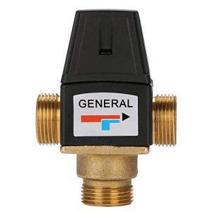 Mitigeur thermostatique pour chauffe-eau solaire en laiton à filetage mâle 3 voies DN20