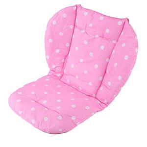 100% tout neuf Poussette Portable Bébé Polka Imprimé Confortable Coussin De Siège Pads rose WEIWEITOE