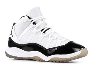 Jordan Nike Air 11 Retro (PS) Concord Chaussure Petit Basketball [378039-107] White/BL