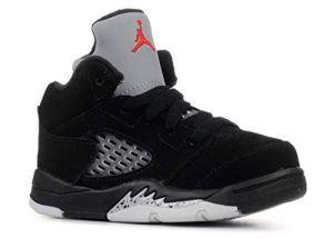 Nike Basket AIR Jordan 5 Retro Enfant – 440890-003 – Age – Enfant, Couleur – Noir, Genre – Mixte, Taille – 23,5