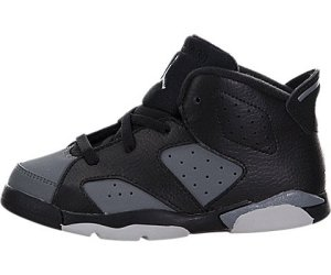 Nike Jordan 6 Retro BT, Chaussures de Football Mixte Bébé, Noir (Noir (Black/White-Cool Grey)), 21 EU