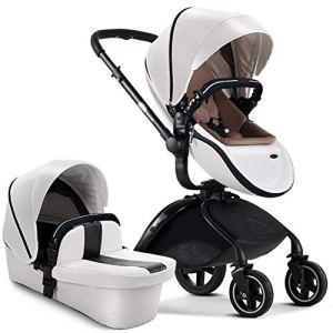 ZJHCC Poussette pour bébé, Haute Paysage, Antichoc, Pliable, Peut s'asseoir, Convient pour bébé 1-3 Ans, Maison/extérieur