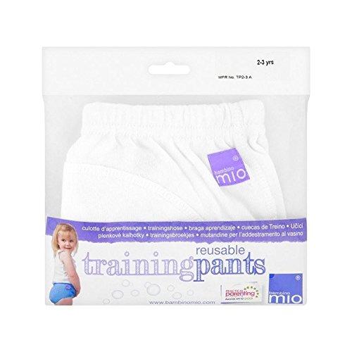 Bambino Mio Pantalon De Formation Blanc 2-3 Ans – Paquet de 6