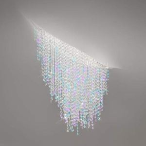 FONTE DI LUCE Plafonnier à 3 ampoules LED Blanc mat