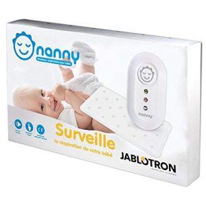 Nanny – Moniteur respiration bébé – Modèle agréé France