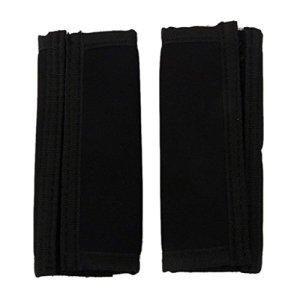 Ogquaton Protection anti-dérapante pour accoudoir de landau ensemble Manche de protection amovible noir pratique et populaire