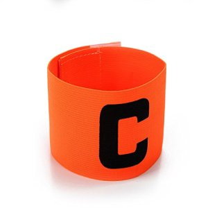RONSHIN Les Sports Casque de Football de Couleur vive Football Brassard Magic Tape Conception Anti-Goutte pour Adultes et Jeunes Orange