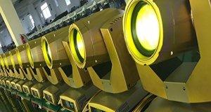 STTS Lumière de Faisceau de Barre Lumineuse de Faisceau de la Lumière 7R de Faisceau d'or,Or,460x380x550mm