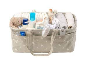 Nested Fox Organiseur de couches pour bébé   lavable et imperméable   Grande taille   Cadeau pour bébé unisexe pour un garçon ou une fille   Pliable et portable