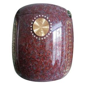 CHOUCHOU Collier Pendentif Cendres Cendres Fournitures funéraires boîte de Vie Écritures Rouges Indiennes Cadeau de Noel