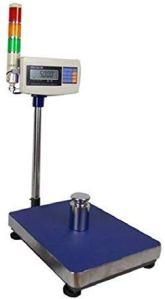 Précision de mesure XK3150W lampe trichromie avec des autocollants Balance Imprimante industrielle électronique Poids Plate-forme échelle Même l'ordinateur, portable et facile à utiliser (Couleur: Bal