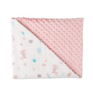 Yanten 158x110cm Couverture de bébé, bébé en Coton Quilt, Swaddles Doux bébé Bain Blanket, Douche Serviettes de Bain (C)