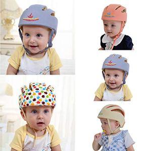 YGQersh Casque Anti-Collision pour bébé, réglable, Casque Protecteur pour bébé – coloré