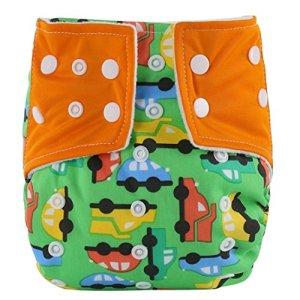 Xshuai® 1pièce pour nouveau-né infantile bébé enfants Coton doux avec fermeture réglable couches lavables couches réutilisables à différents motifs