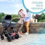 Bébé Confort Stella, Poussette Tout-Terrain, Maniable et Pratique, de la Naissance à 3,5 ans (0-15 kg), Essential Graphite