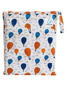 Maman et bb Nature – Phileas – Sac imperméable pour couches lavables 2 poches