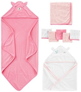 Simple Joys by Carter's Bébé fille Not Applicable, Rose (Pink/White), (Taille fabricant: Taille unique)