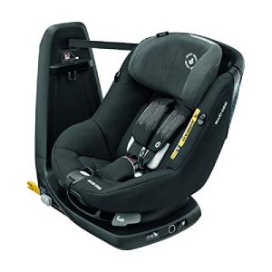 Bébé Confort AxissFix Plus i-Size, siège auto évolutif, siège auto pivotant, de la naissance à 4 ans, 45 – 105 cm, Frequency Black