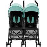 Britax Römer Poussette Duo | HOLIDAY DOUBLE | 6 mois à 3 ans (Jusqu'à 15 kg par siège) | Lagoon Green