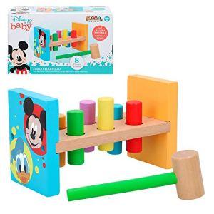 Disney ColorBaby 48707 Marteau en Bois 22 cm