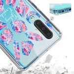 Oihxse Mode Motif de Diamant Case Compatible pour Huawei Nova Lite Coque Silicone Ultra Mince Transparent Souple Bumper Crystal Clair Anti-Rayures Antichoc Protection Cover,Diamant 9