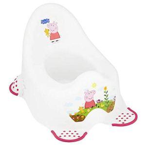 Peppa Pig Pot pour enfant Stable avec pieds antidérapants–Princesse Peppa